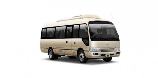 XML6700考斯特纯电动客车