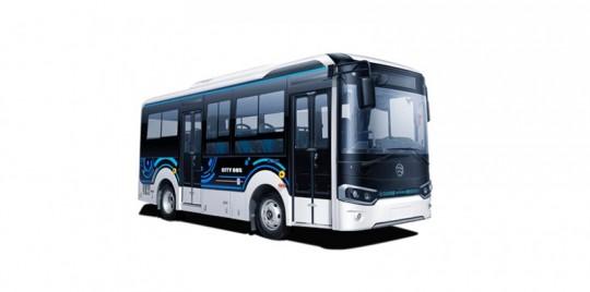 XML6605、6655星途纯电动公交